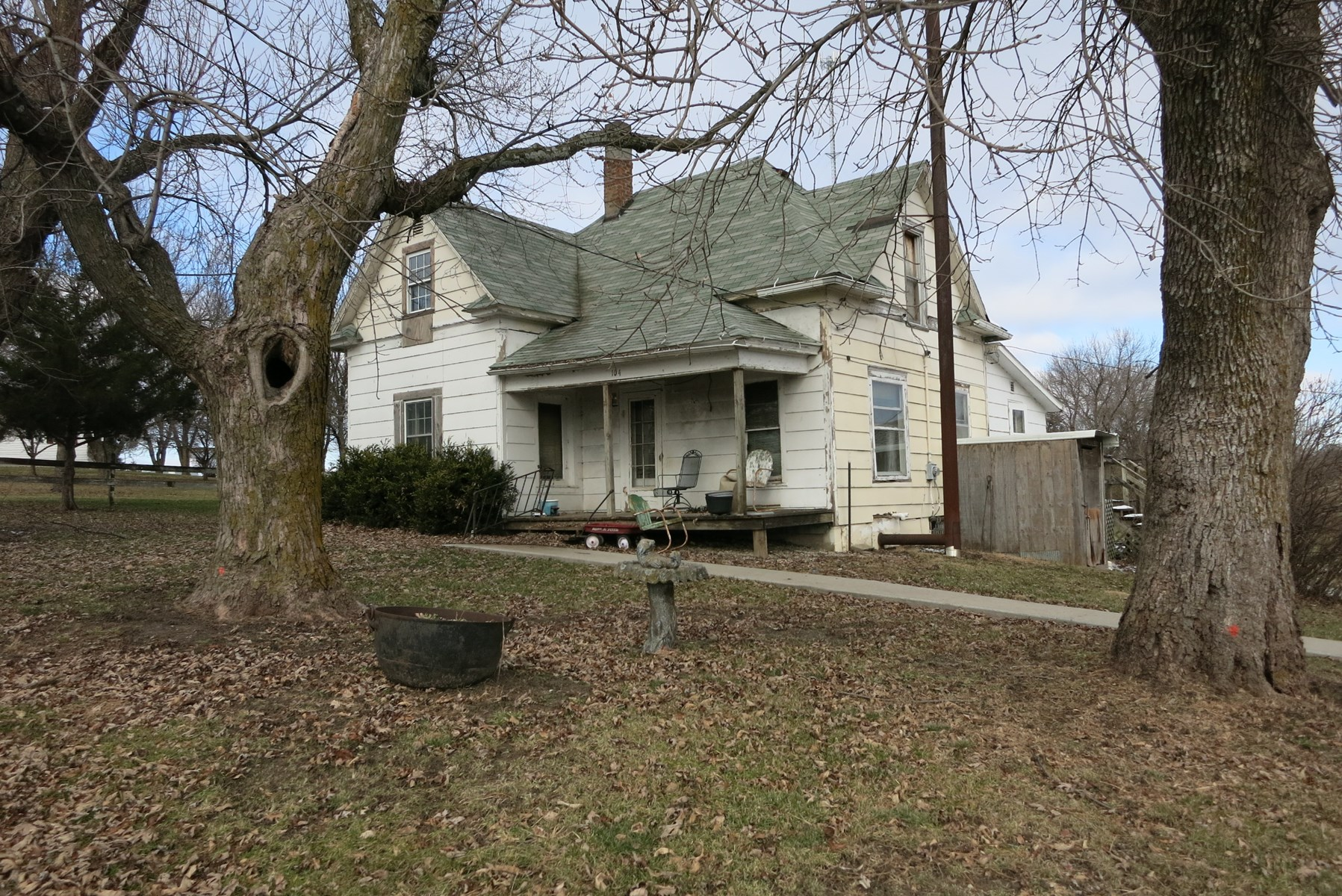Old Home on 5.3 Acres m/l For Sale