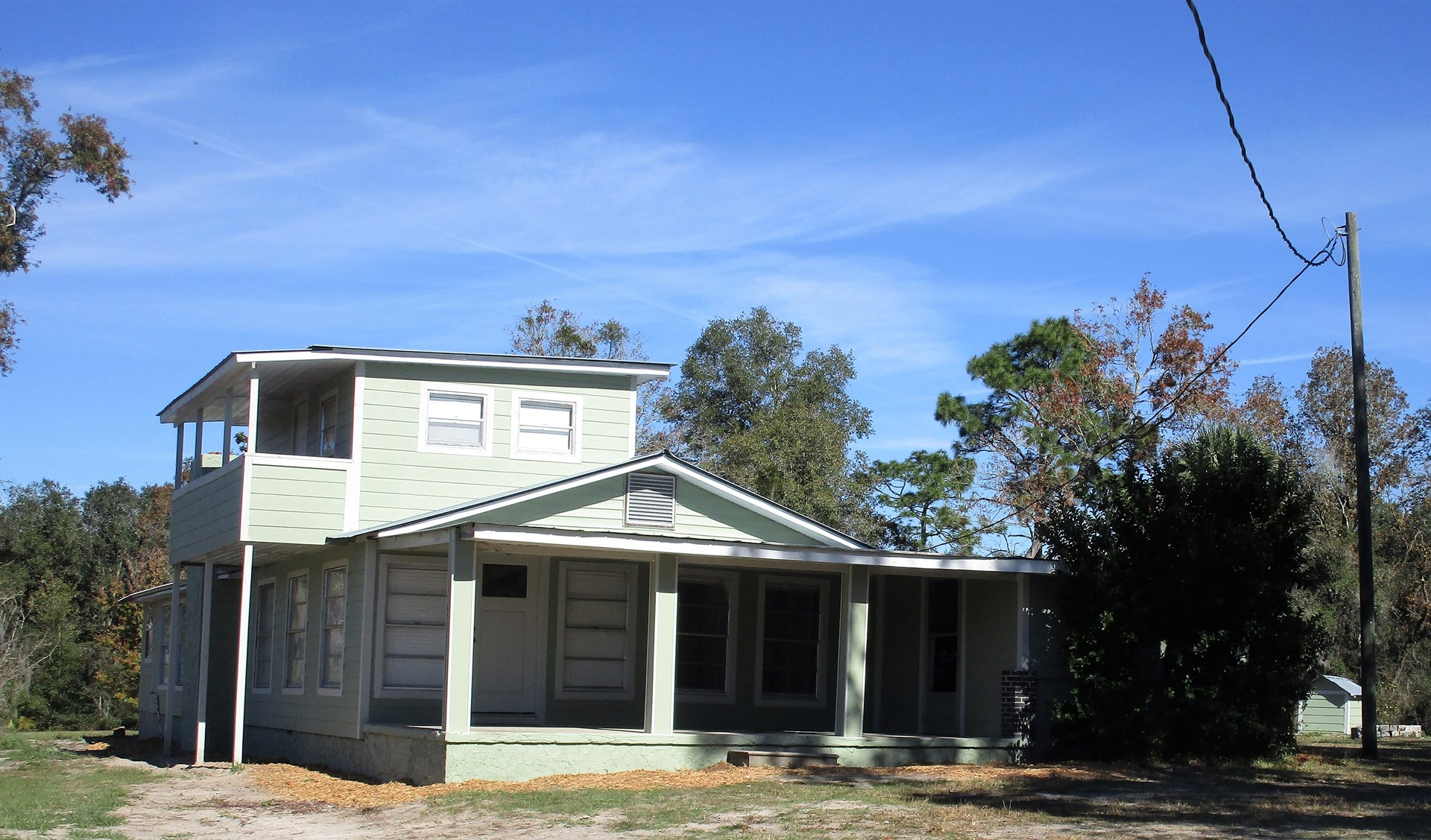 Farm House For Sale with Acreage in Chiefland, Florida