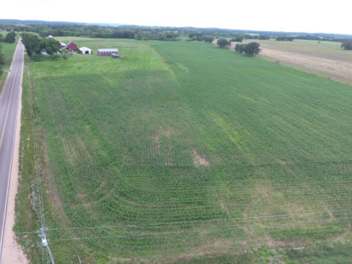 Buildable Land with Tillable Acreage in Columbia County WI