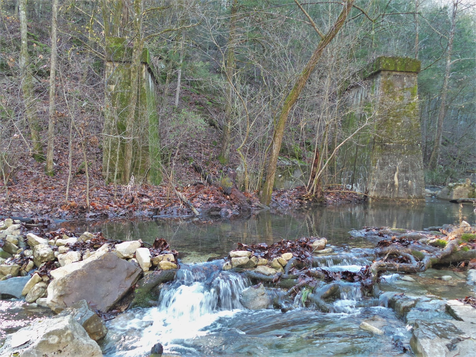 CREEKS, SPRINGS, MINES AND OLD MILLS NEAR BUFFALO NAT'L RIVE