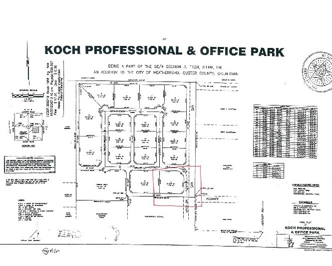 Commercial Lot for Sale, Weatherford, OK Custer County
