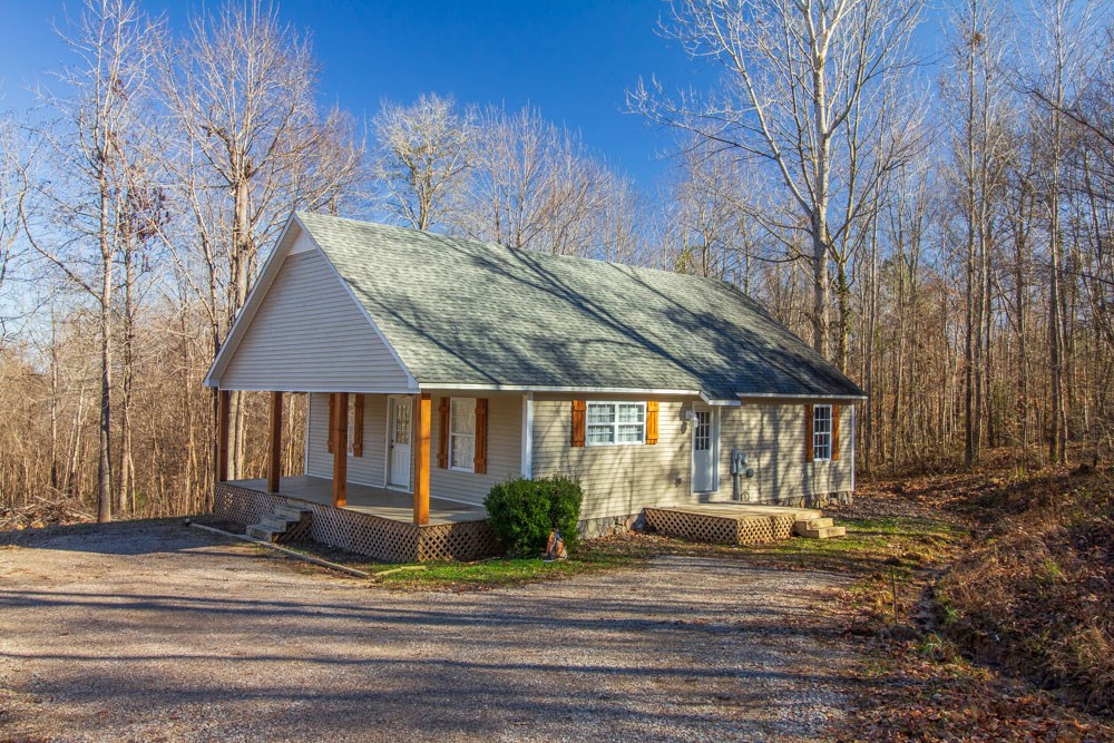 Country Home on 4.8 Acres  with Small Pond, Ramer, TN