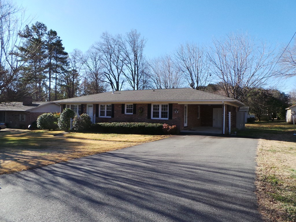 Affordable Brick Rancher In Clarksville, VA