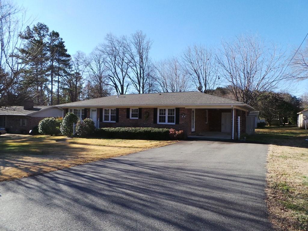 Affordable Brick Rancher In Clarksville, VA