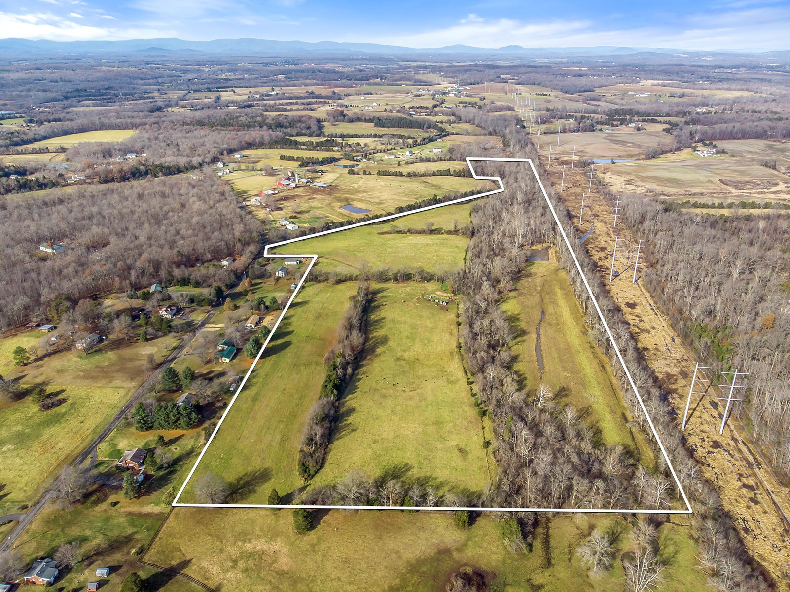 Farmland in Fauquier Co VA for Sale Great Country Home Site