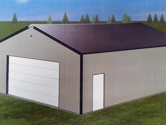 Land for Sale in Waupaca WI - New Storage Shed Included