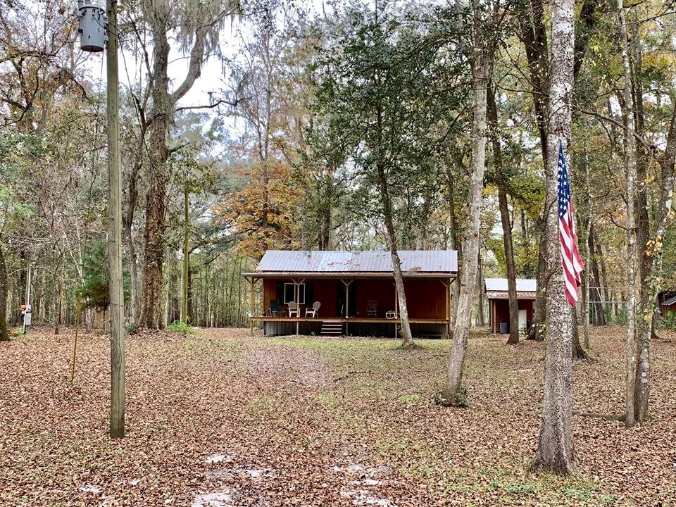 SANTA FE RIVER PROPERTY FOR SALE - With Cabin, Branford, FL