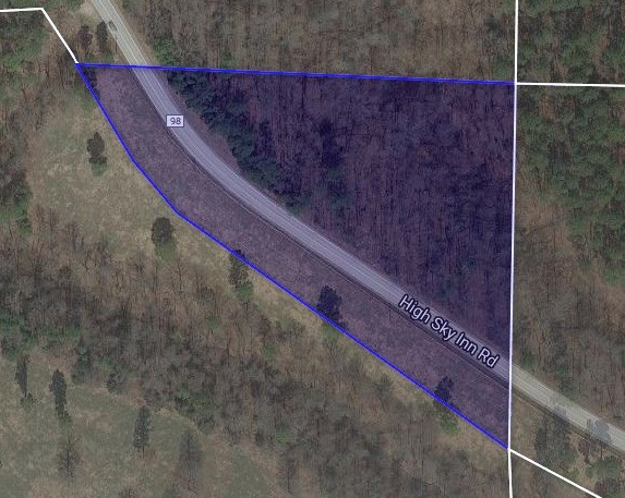 Prime Benton County timberland located in Hindsville, AR
