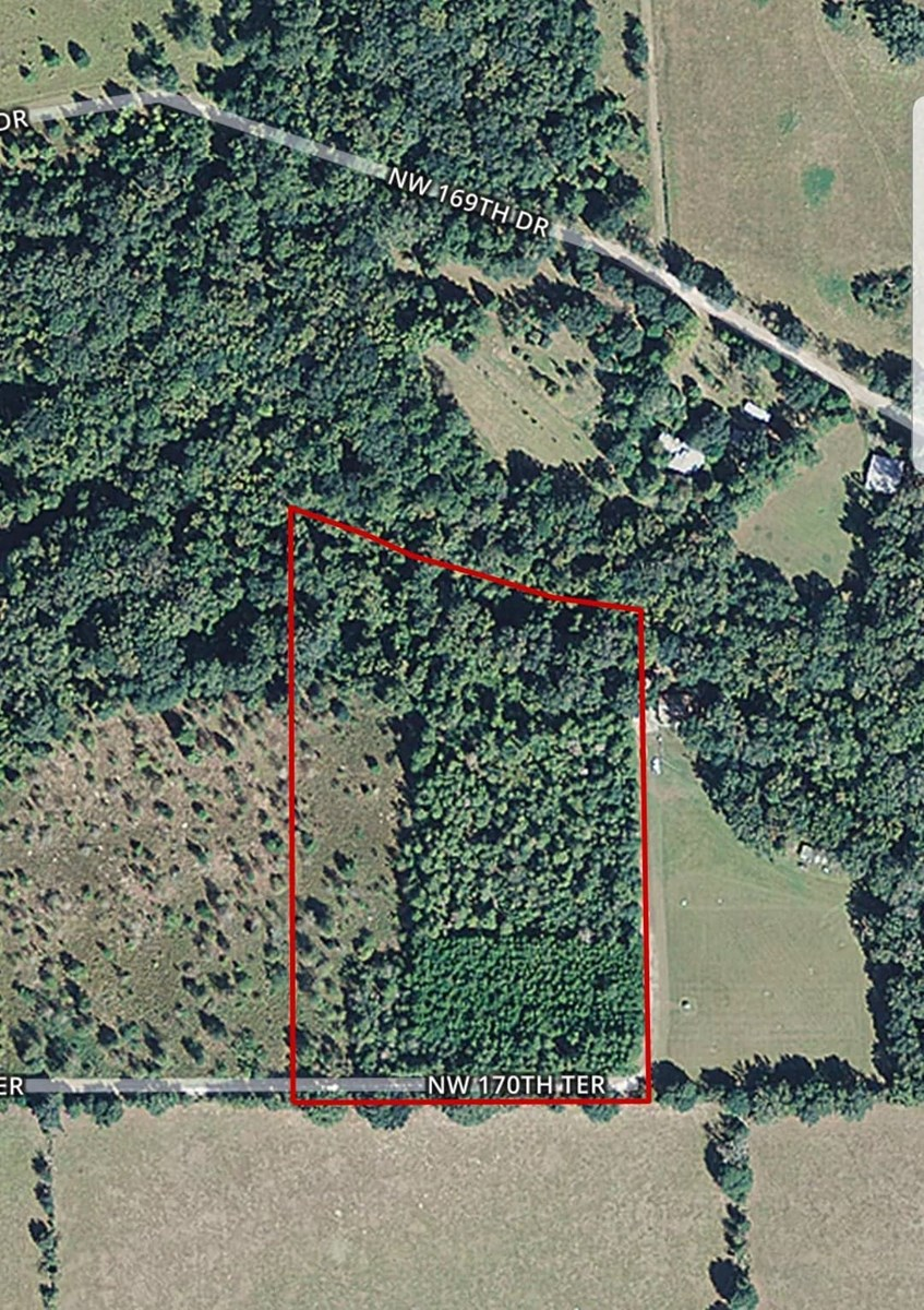 VACANT LAND FOR SALE - ALACHUA FLORIDA - 9.86 Acres