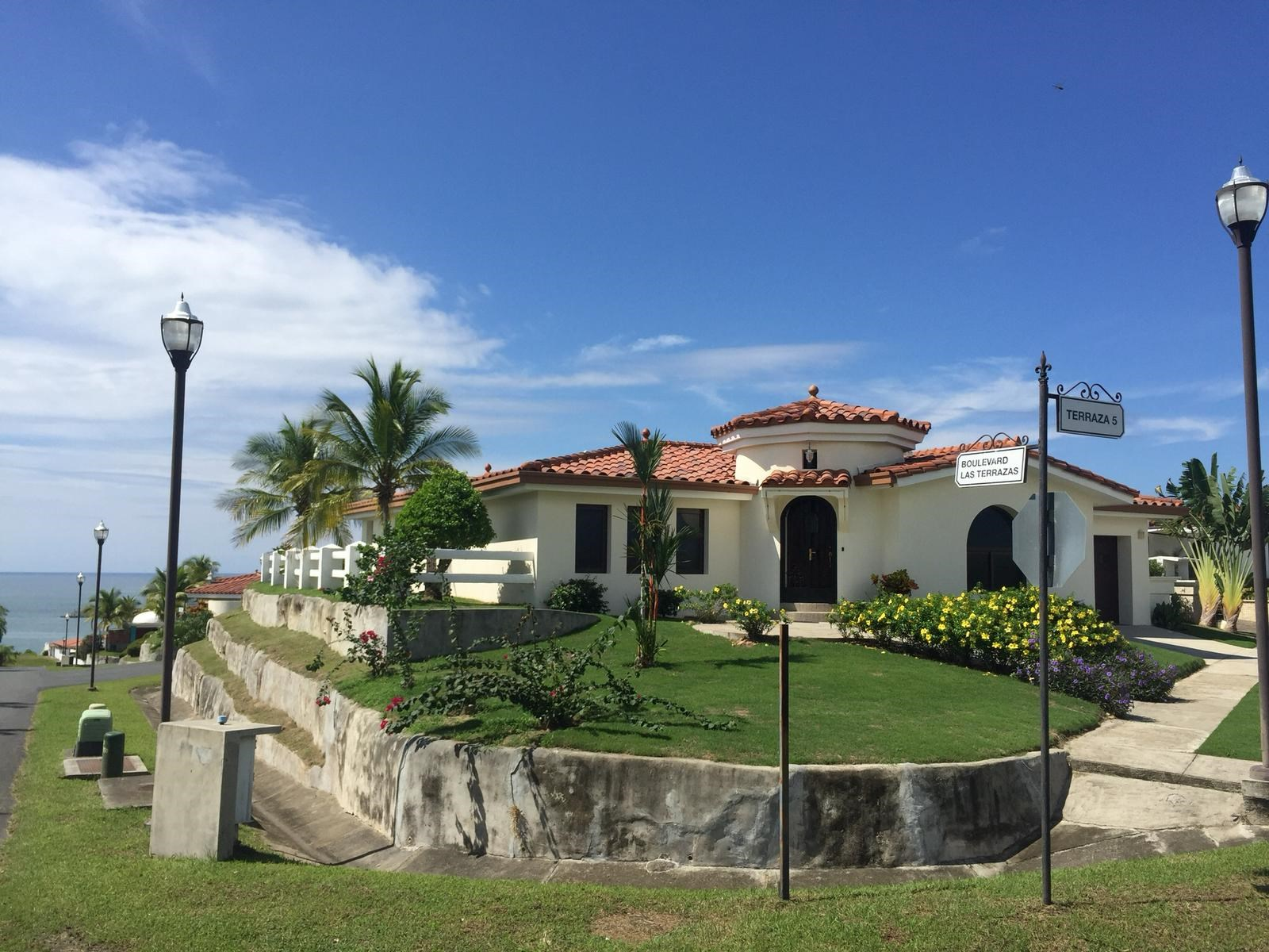 Ocean View House in Vistamar Beach, Golf & Marina Panama