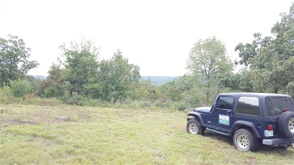 16.4 Acre Homesite with Mountain View Adjoining Poteau River