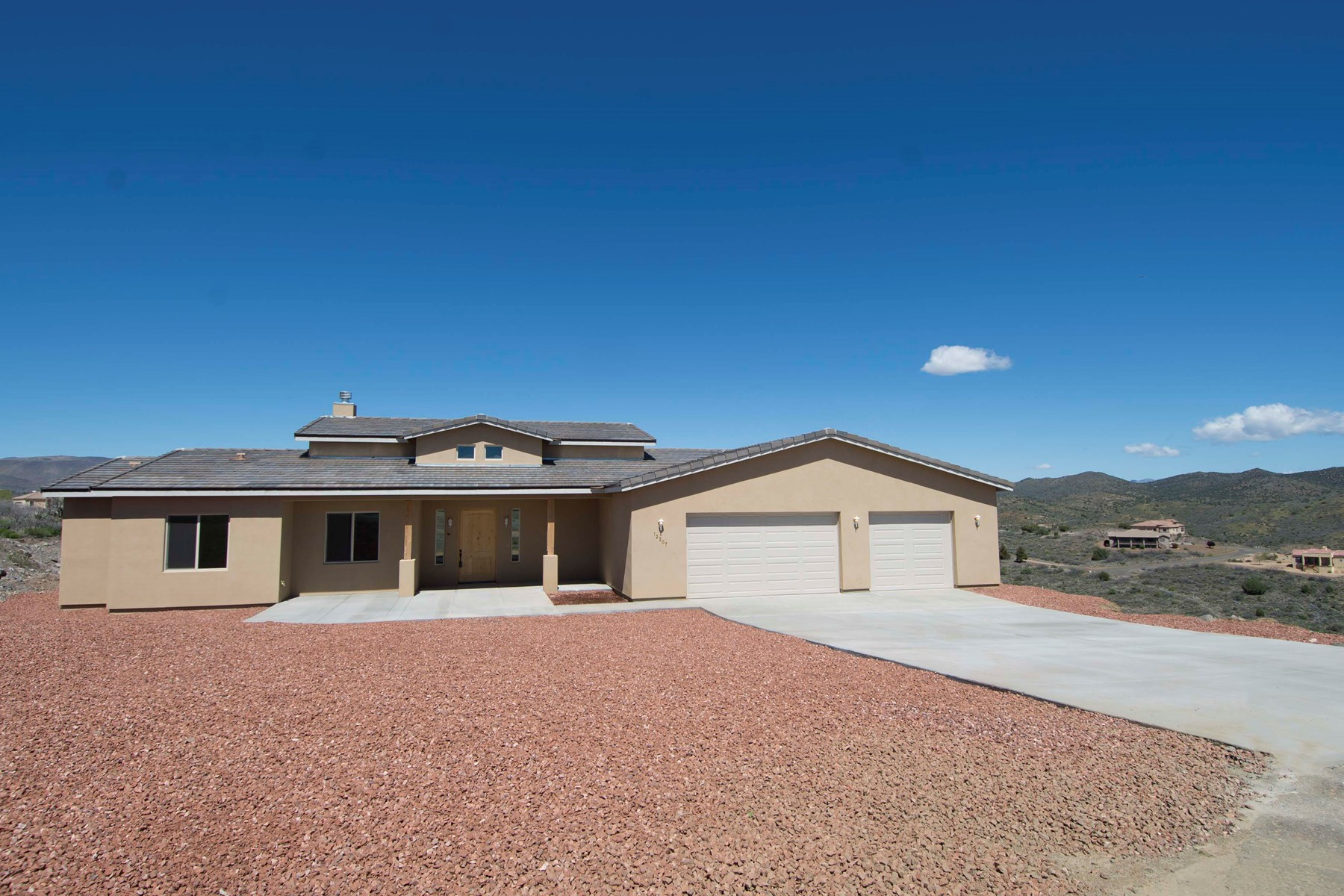Brand New Home in Country Setting, Central Arizona