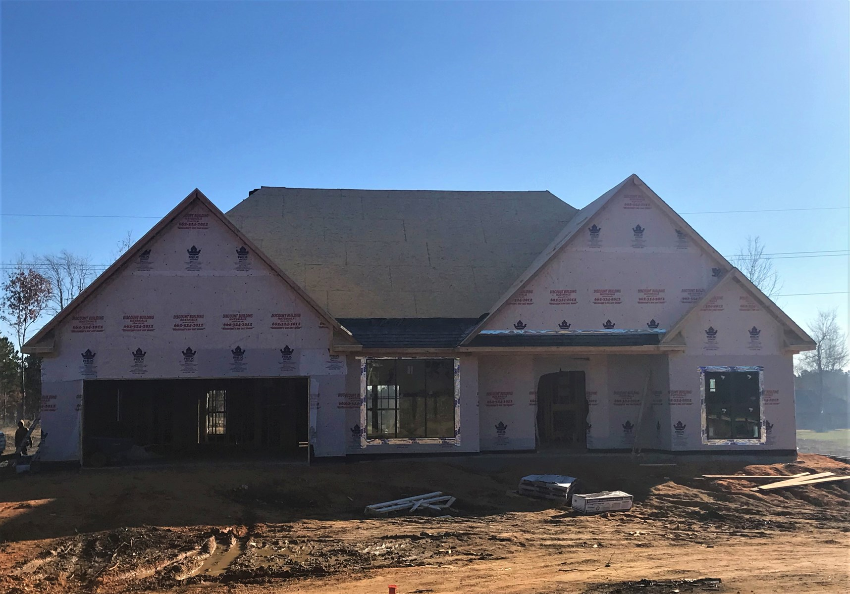 NEW CONSTRUCTION 3 Bed 2 Bath home on 2.67± acres