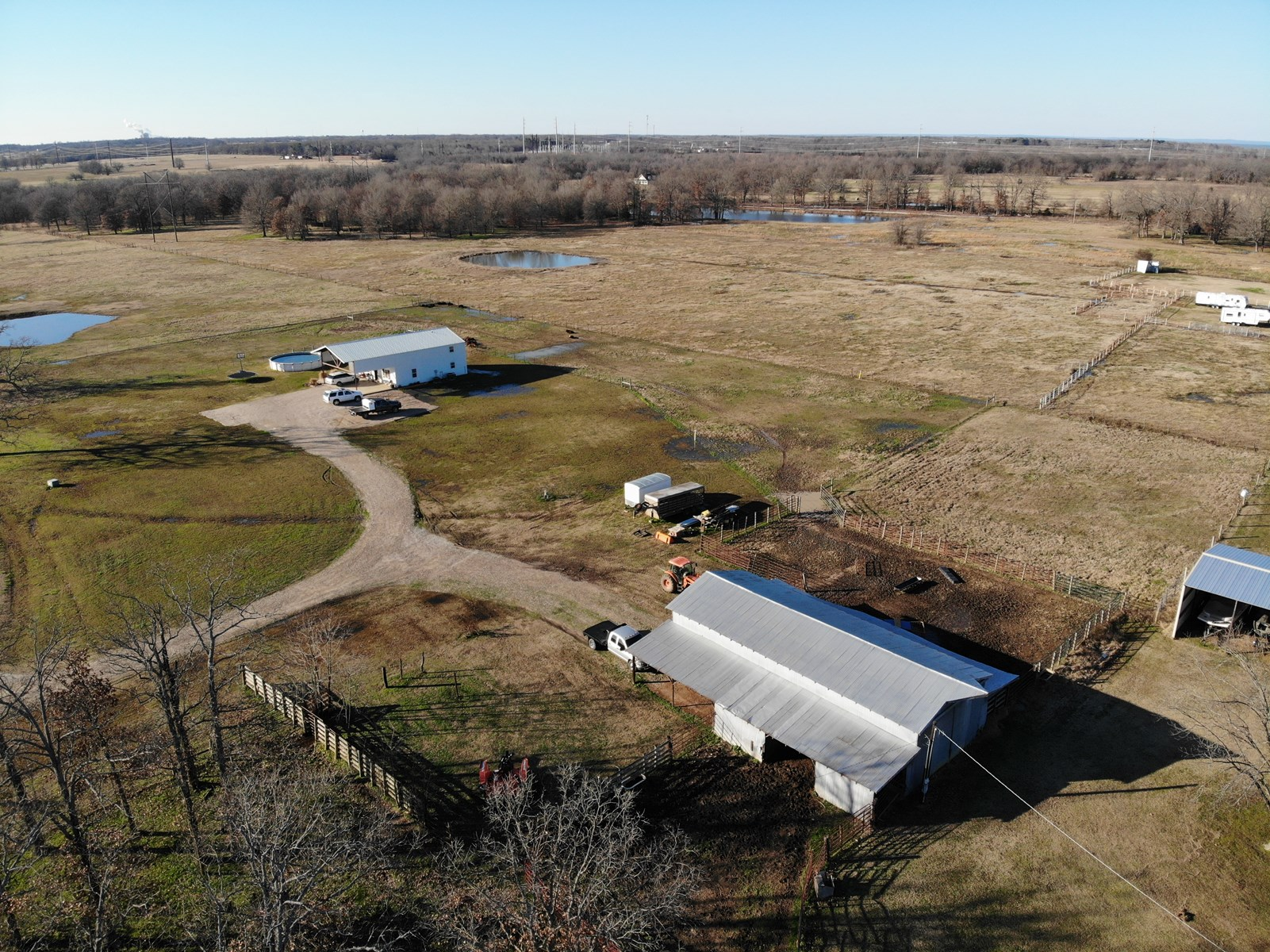 Large Cattle Ranch For Sale In Valliant Oklahoma