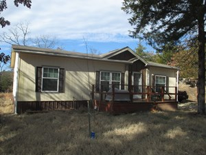 HOME ON 10 ACRES FOR SALE IN FINLEY, OKLAHOMA