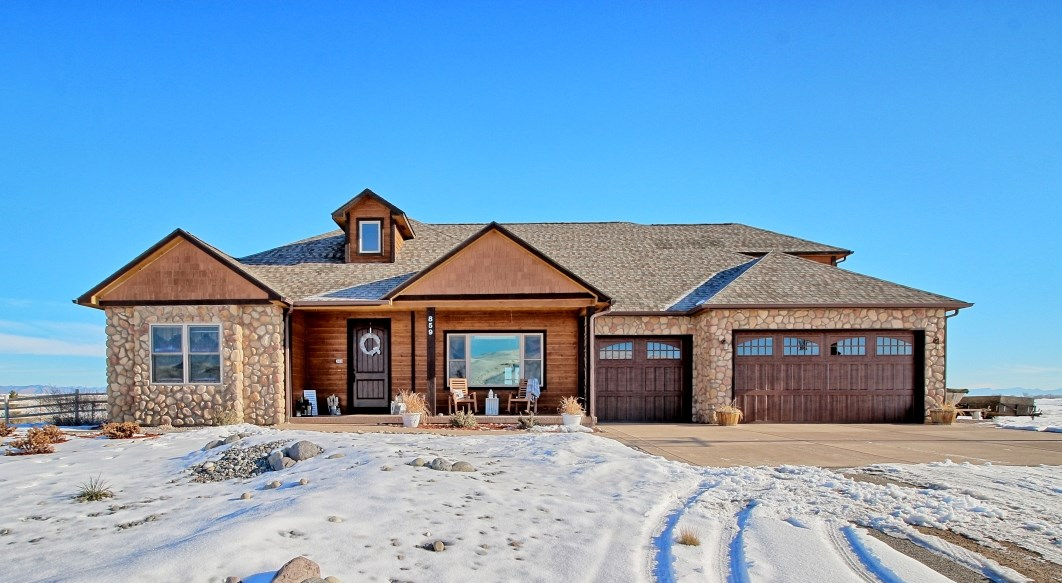 Western Colorado luxury home with acreage, Mesa County