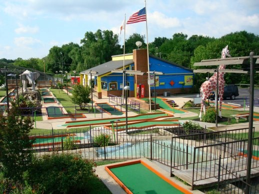 60+ year established Putt-Putt franchise with Real Estate