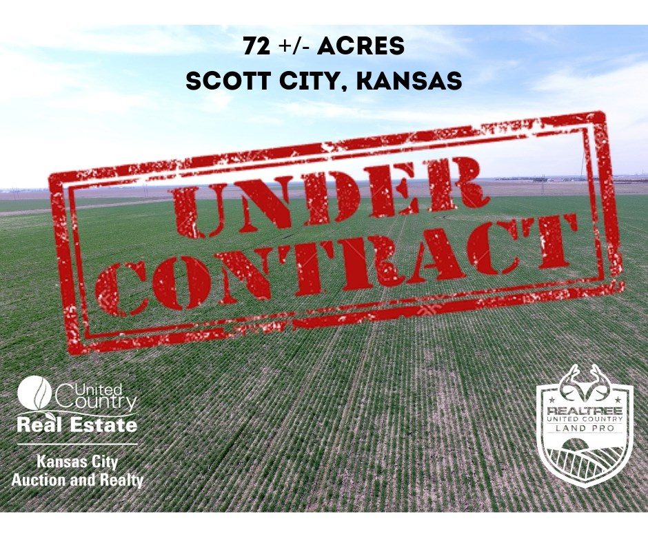 Row Crop Farm in Scott County Kansas For Sale