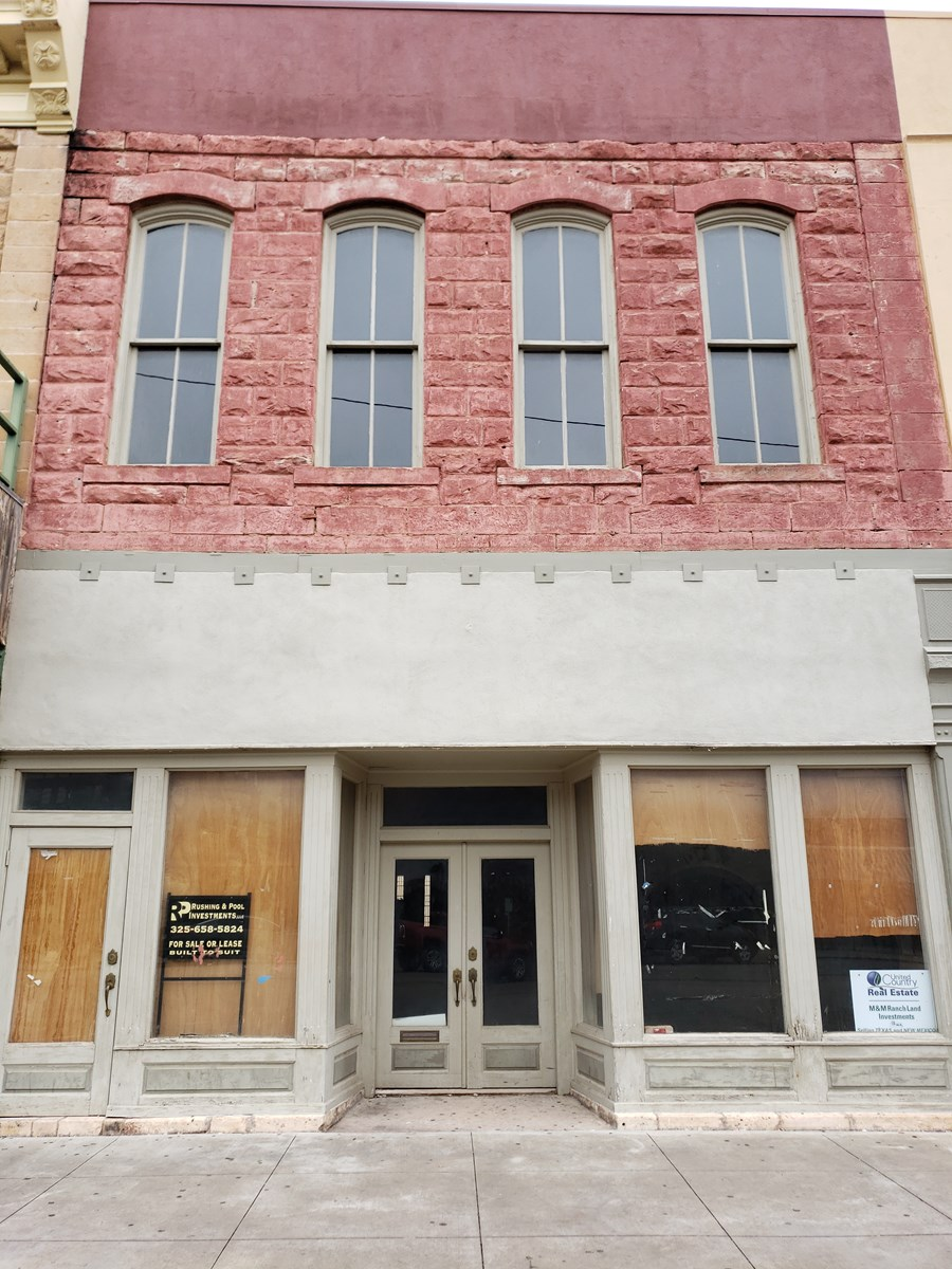 Commercial Historic Property in downtown San Angelo, Tx
