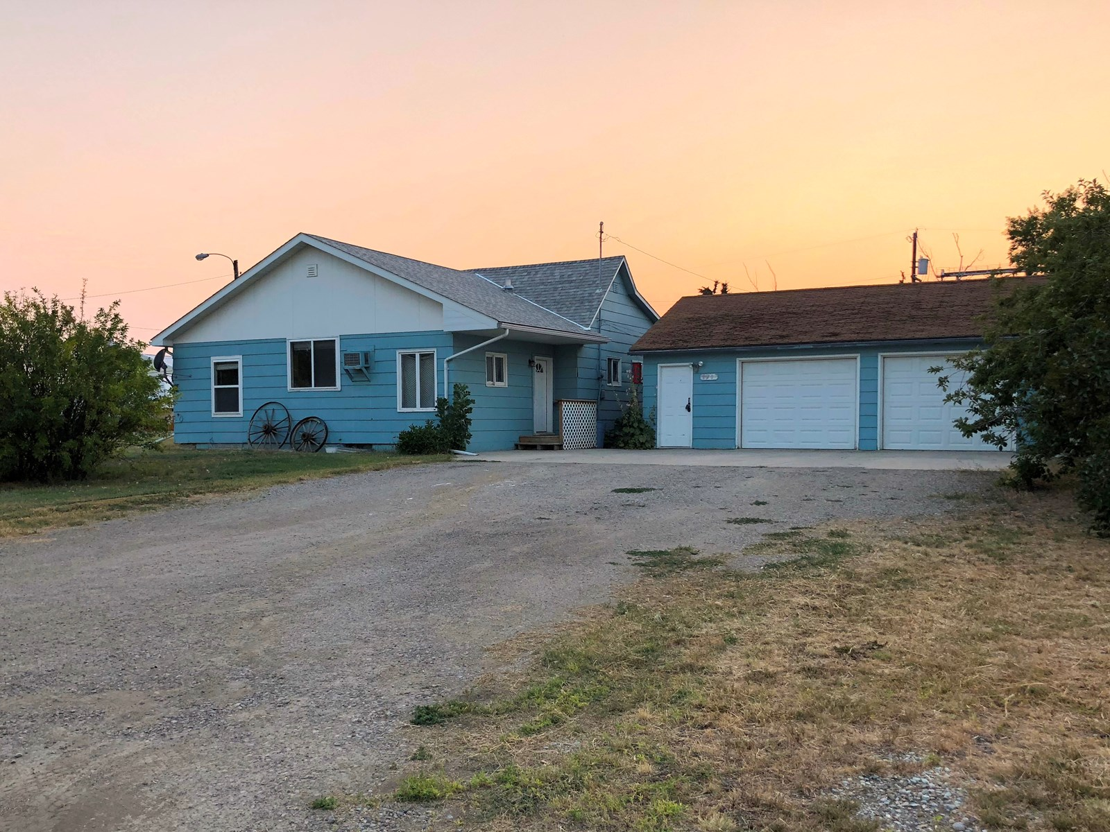 3 Bed, 1 Bath Home on Double Corner Lot for sale