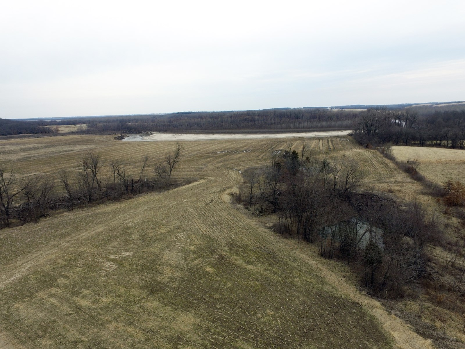 Riverfront Tillable Farm for Sale Gentry County Missouri