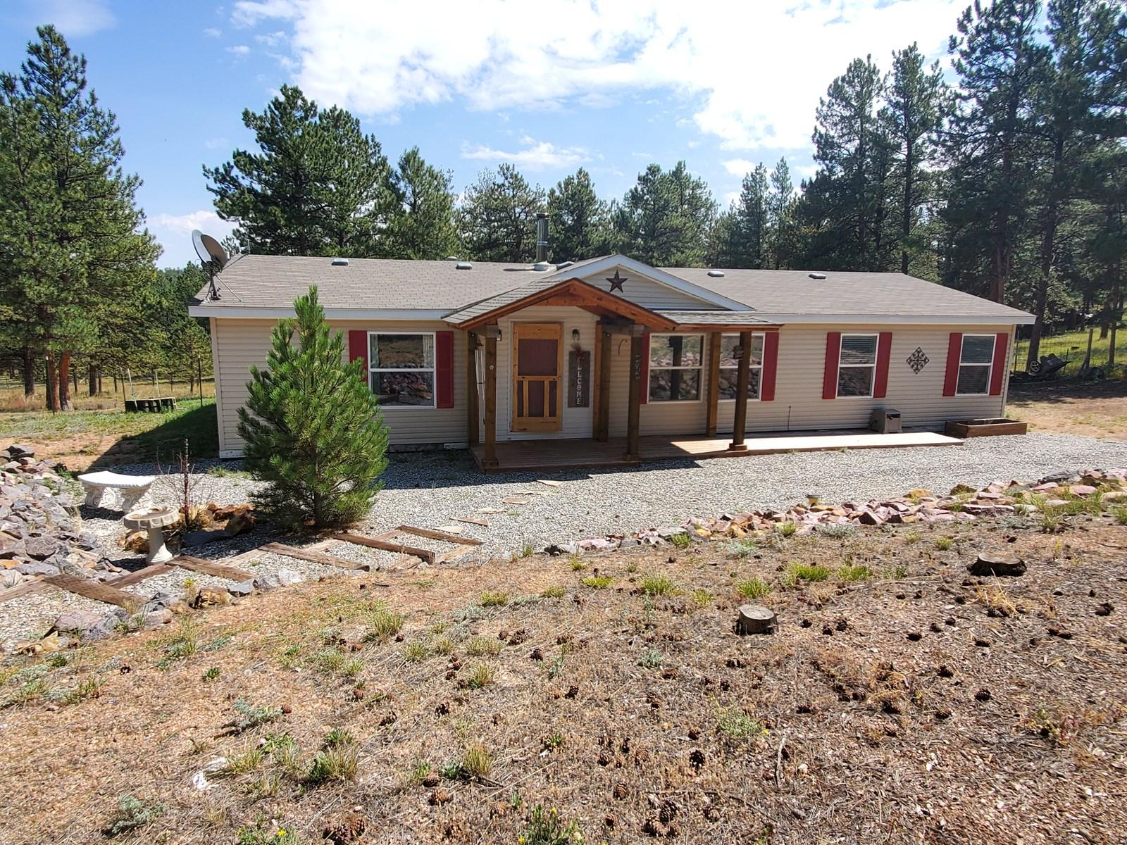 Mountain Home  in Florissant Colorado