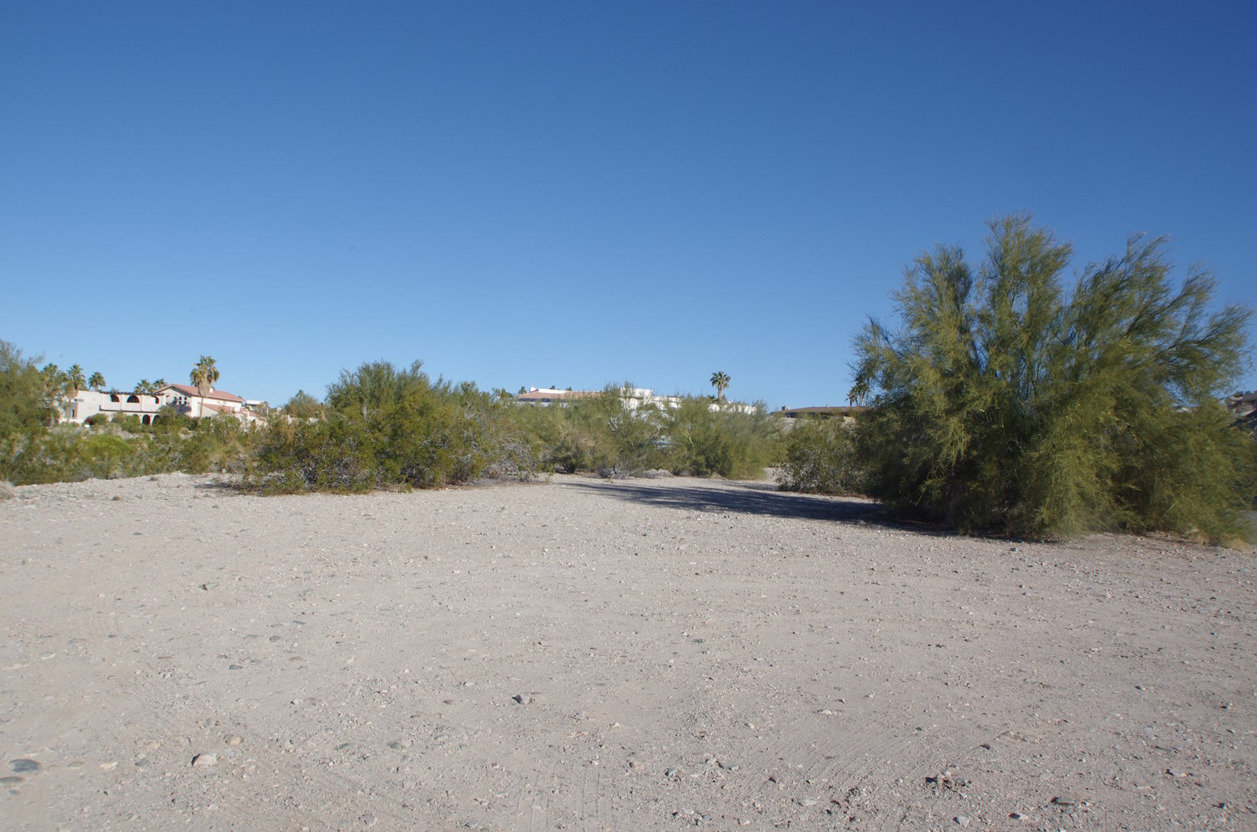 Vacant land in Lake Havasu City, AZ.