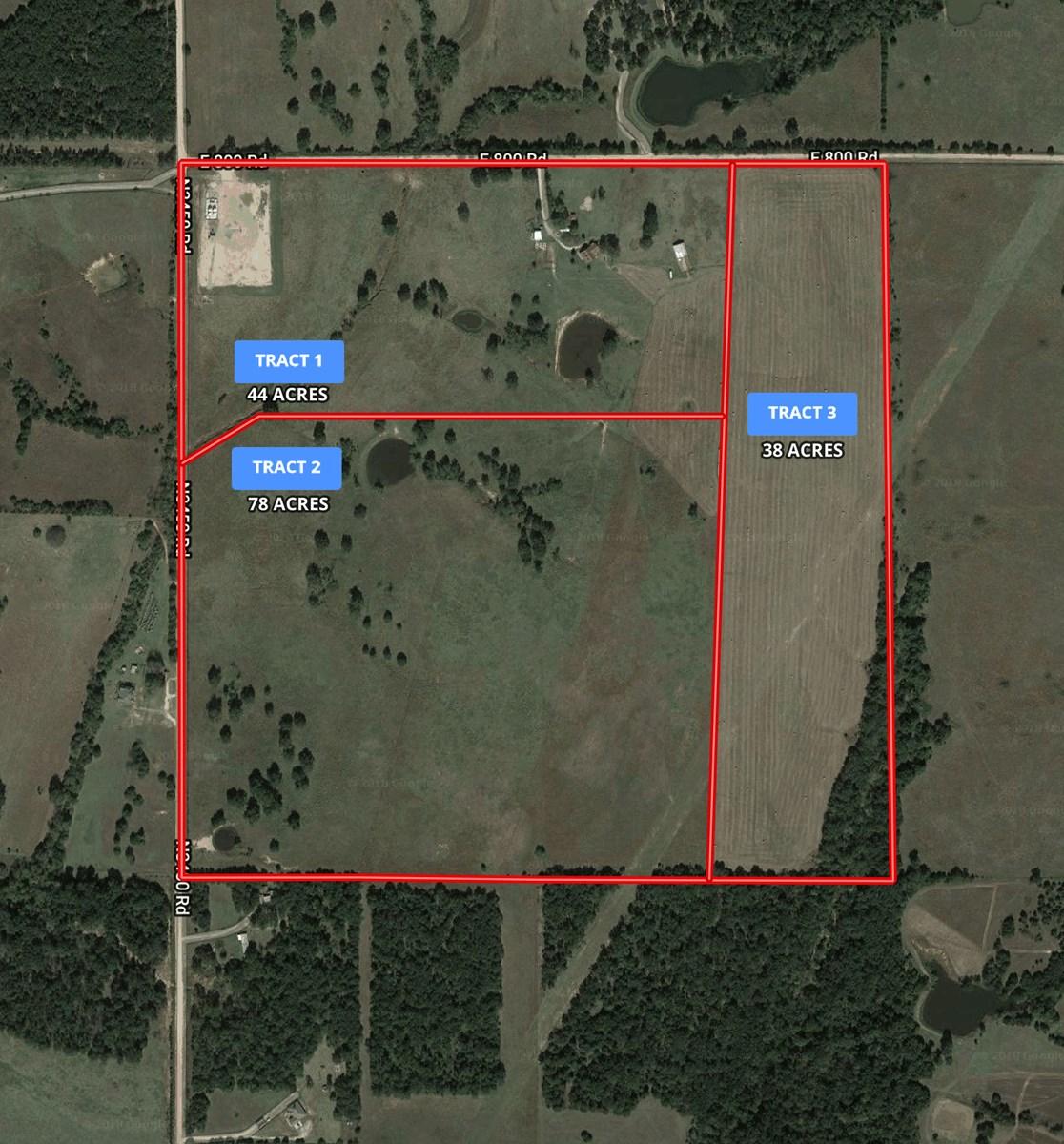 Central Oklahoma Ranch Auction on 160 acres +/- Agra, OK