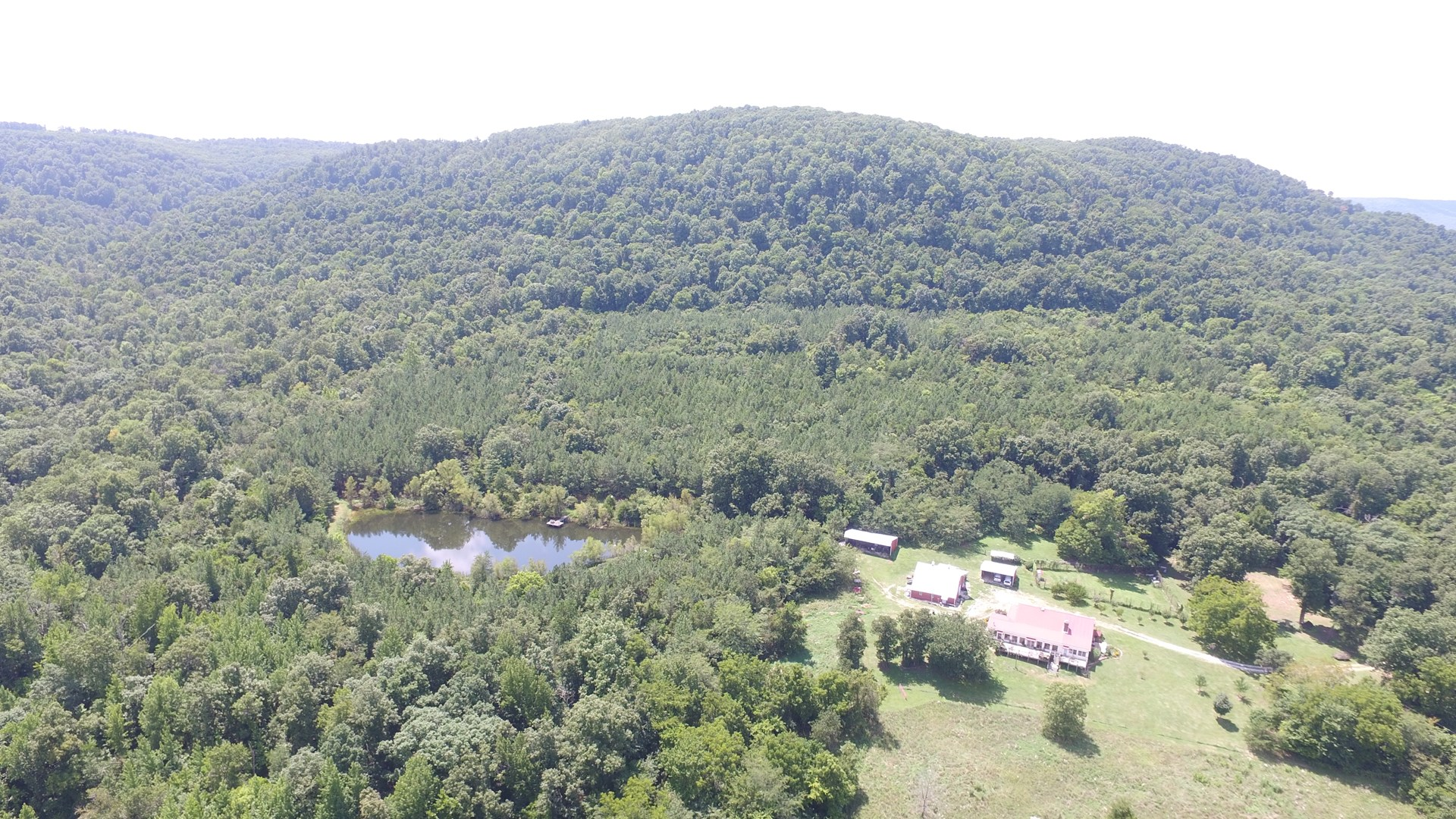 LARGE FARM FOR SALE IN OZARK MOUNTAINS WITH CREEK, WILDLIFE