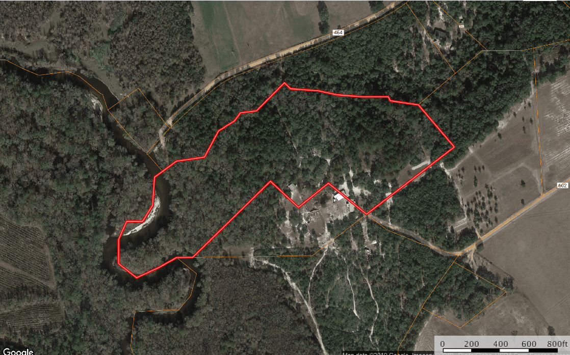17+/- Acres of Prime Recreational Property on Ohoopee River