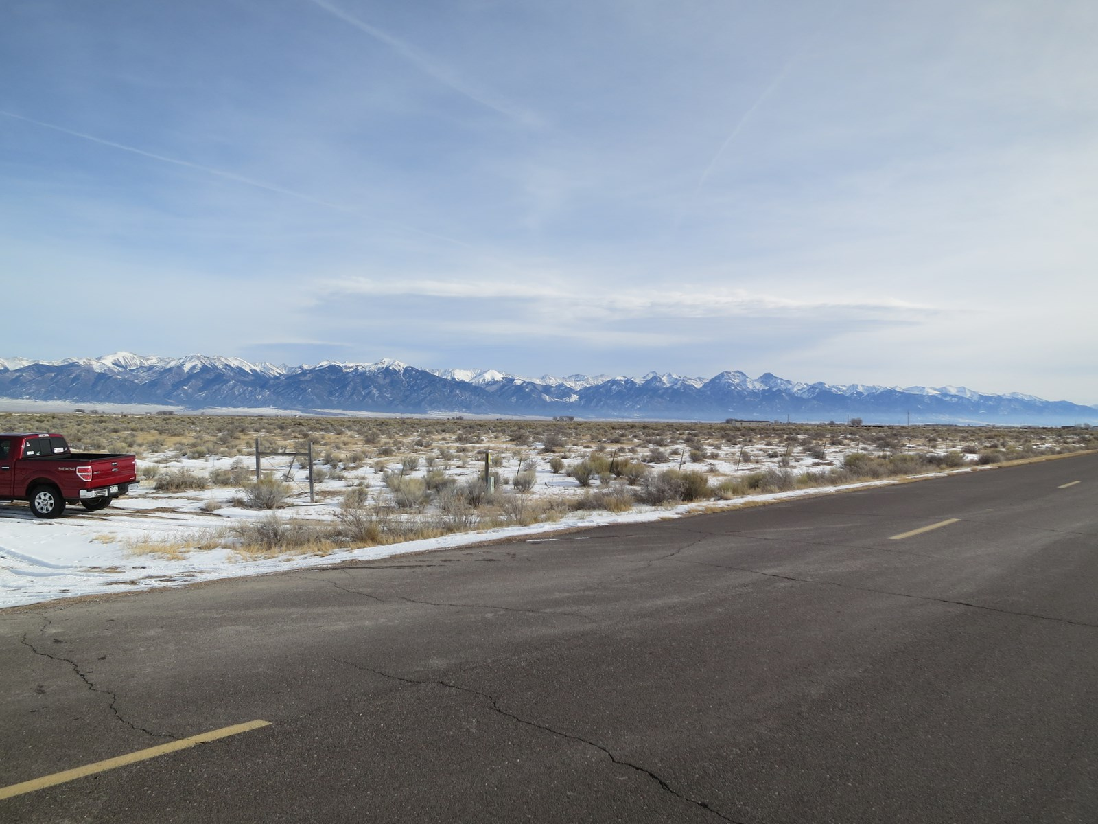 40 acre fenced property with views of Sangre de Cristo Mtns