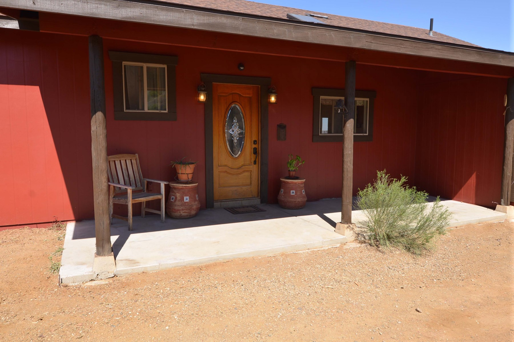 Mountain Home for Sale with Views in Dewey AZ