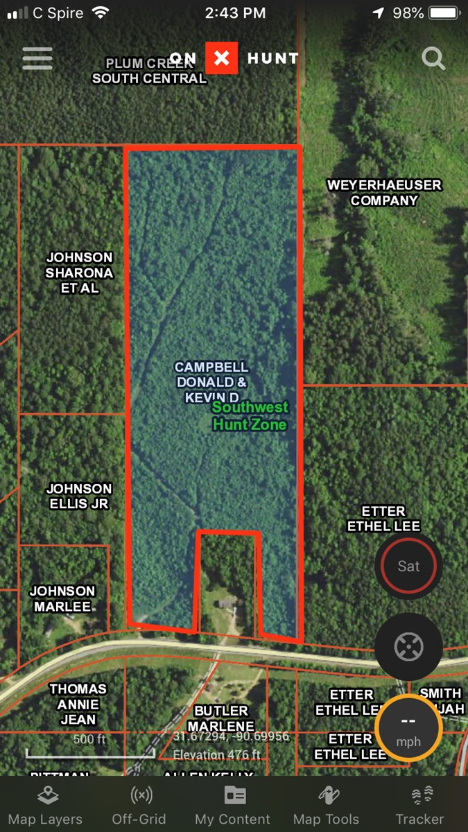 Land For Sale near Homochitto National Forest Mississippi