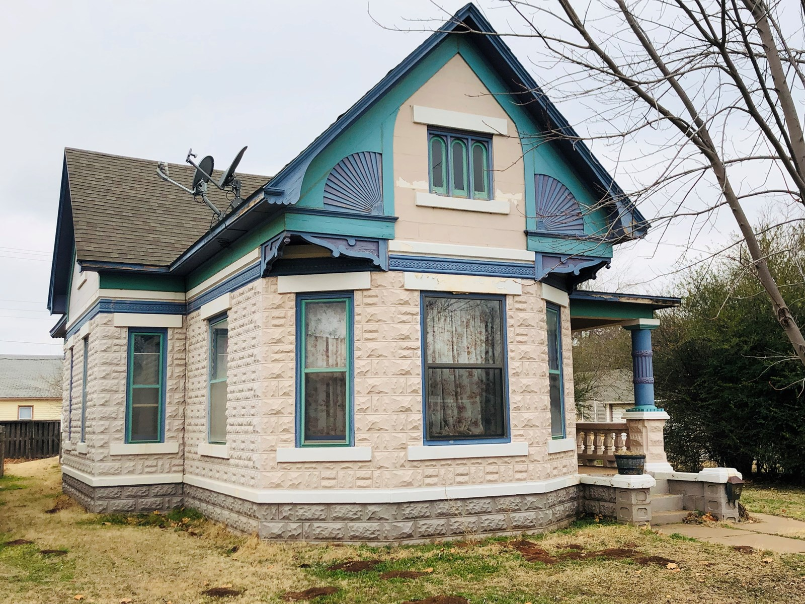 Historical Home for Sale in Cherokee OK (Alfalfa Co)
