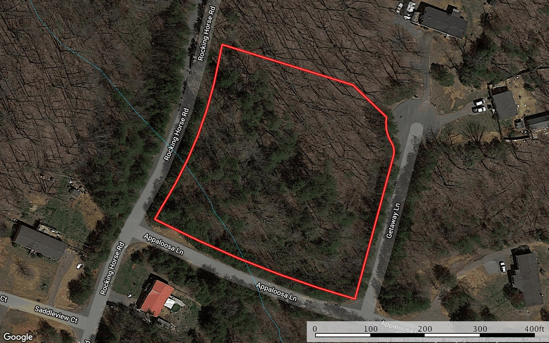 Private Corner Lot For Sale Near Maiden NC