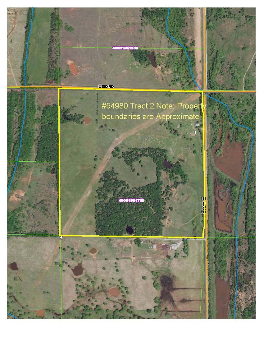 Real Estate Auction, Productive Farm 160 acres +/- Chandler, OK