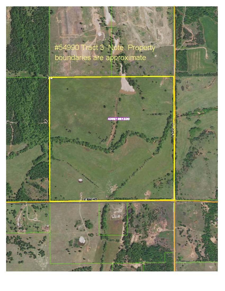 Real Estate Auction, Productive Farm 160 acres +/-, Carney, OK