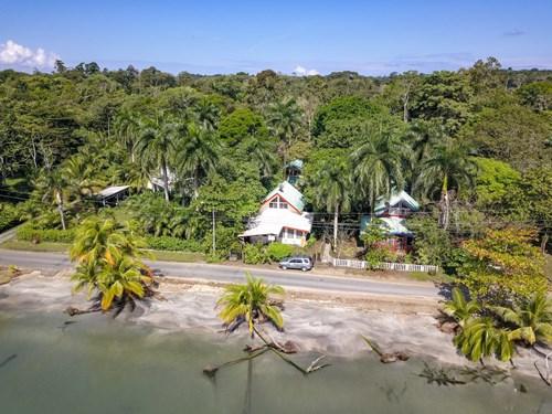 Bocas del Toro Titled  Beach Home Unobstructed Ocean Views
