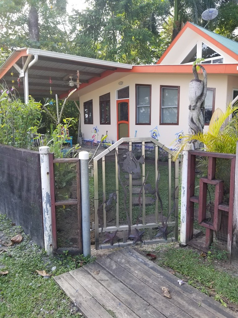 Bocas del Toro Titled  Beach Home Unobstructed Ocean Views