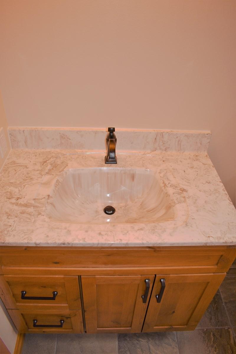 2nd Bathroom Vanity w/Delta Faucet