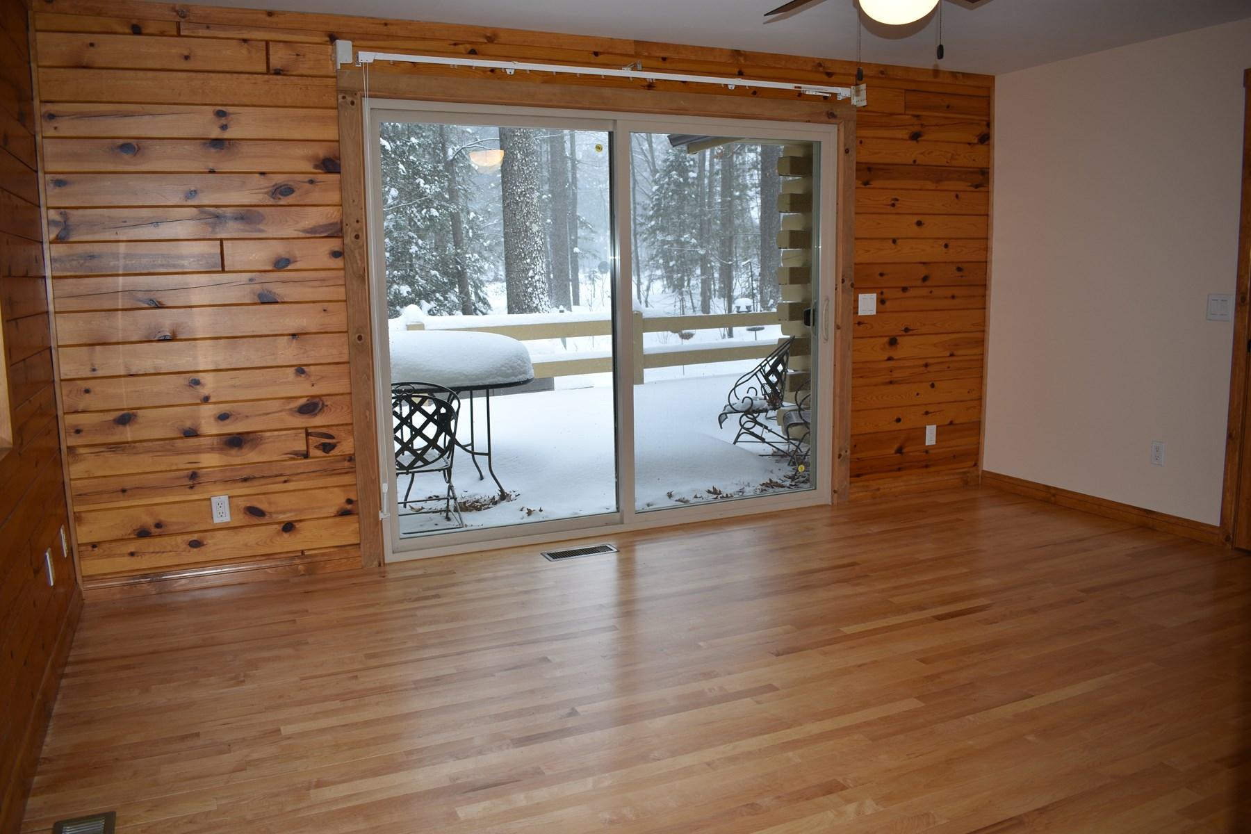 Master Bedroom w/door wall to deck
