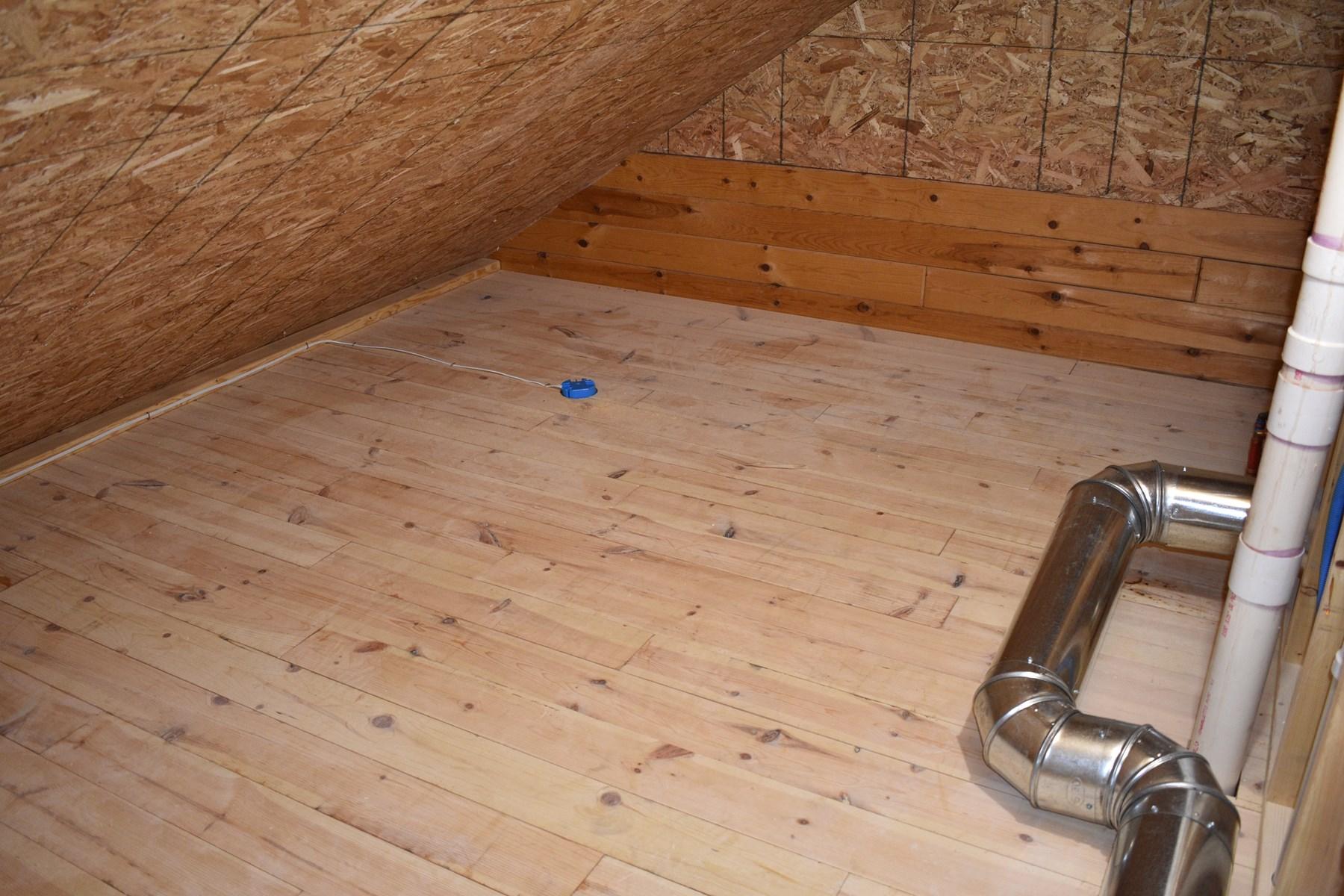 Loft Bonus Storage Room