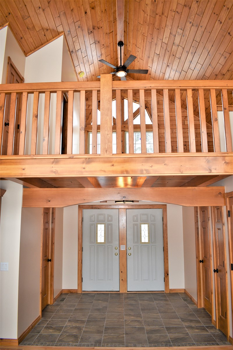 Foyer/Loft, view from Great Room