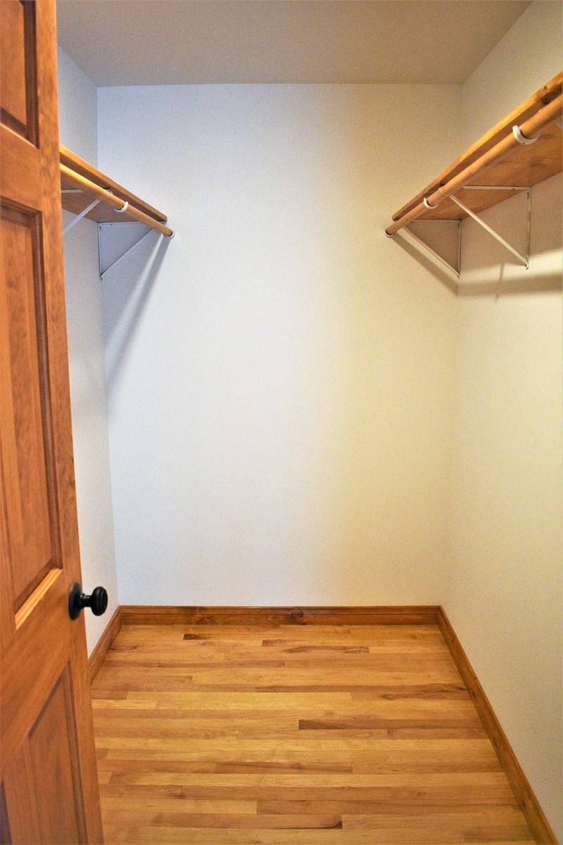 Master Bedroom Walk-in Closet 5x8