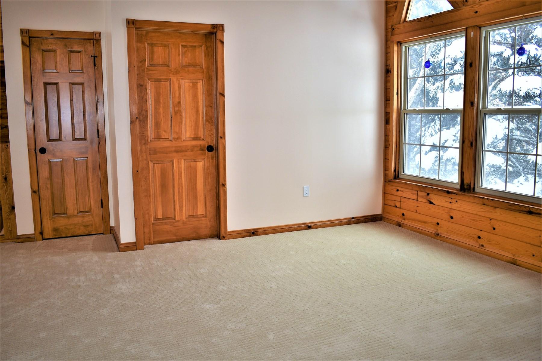 Loft, Door to 3/4 Bath, Door to additional storage