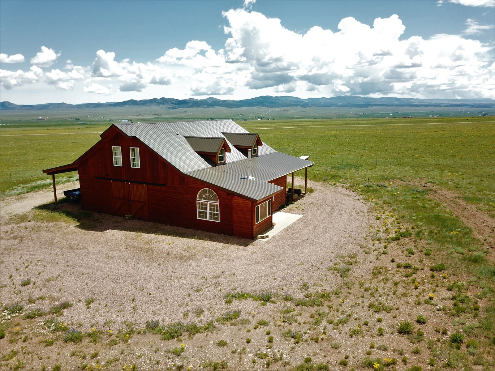 70+Acres Barn Home combo in Westcliffe Colorado
