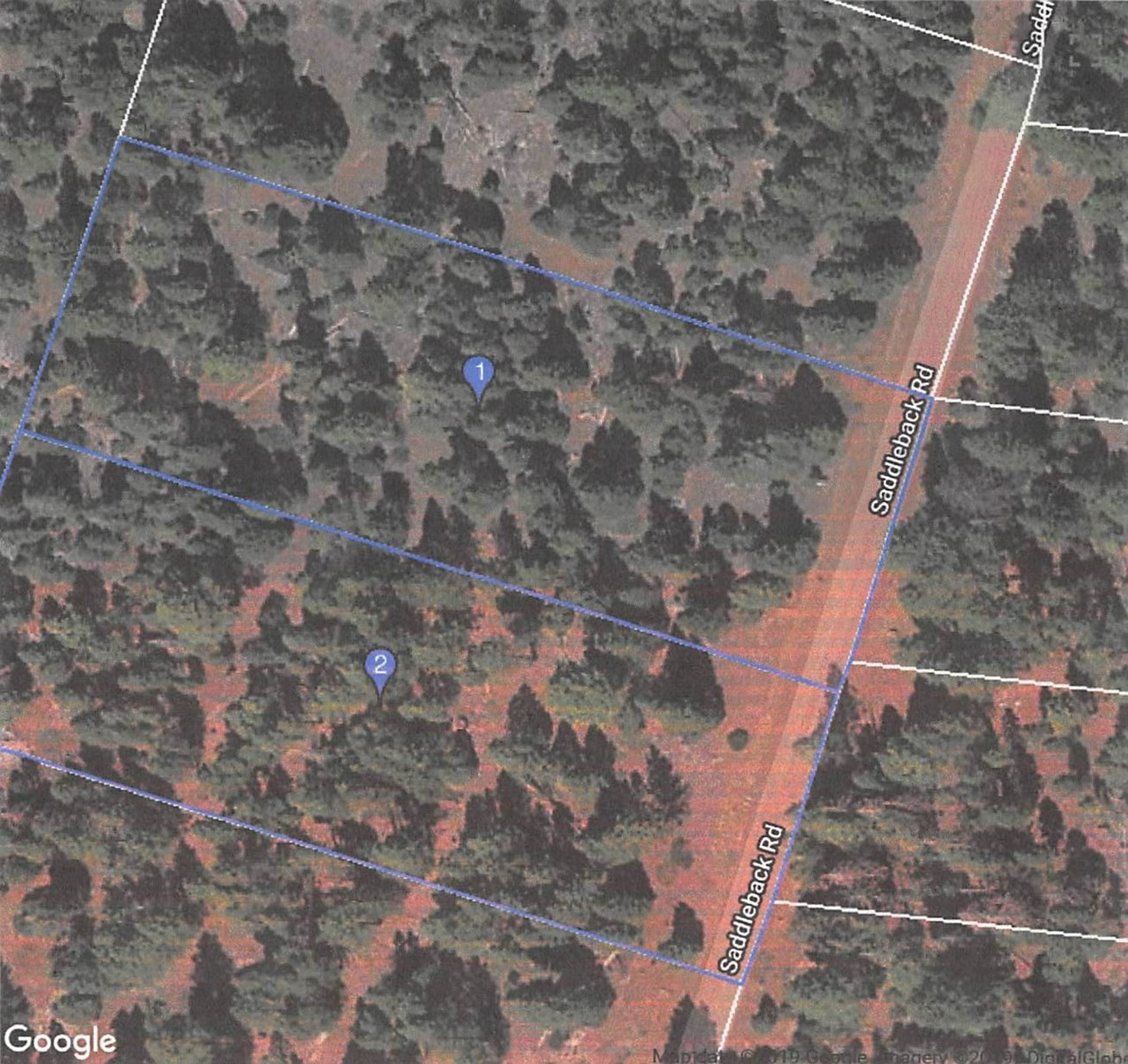 2 Acres for Sale in the Pine Trees Alturas CA