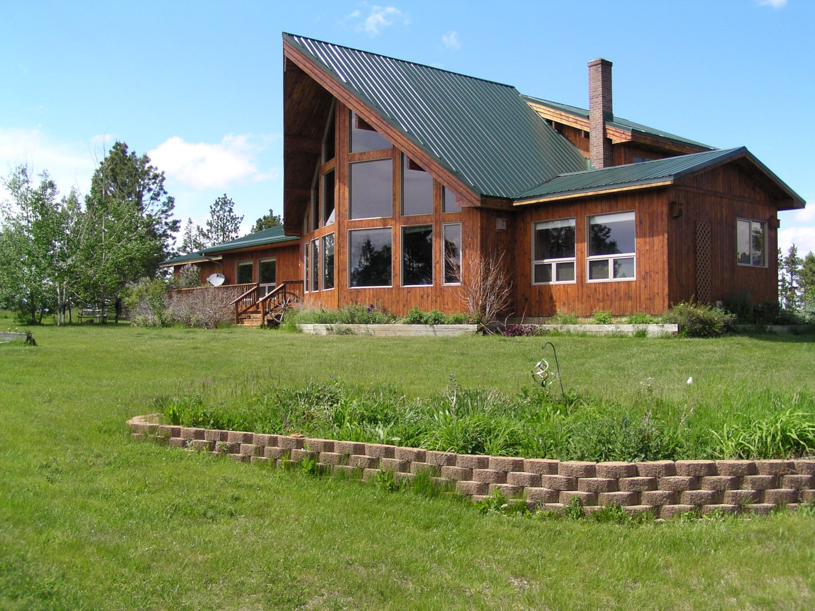 Central Montana Country Home with Acreage & Reservoir