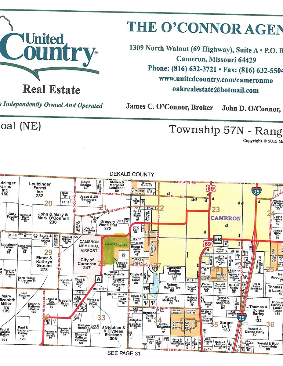 CAMERON MO 85 ACRES FOR SALE