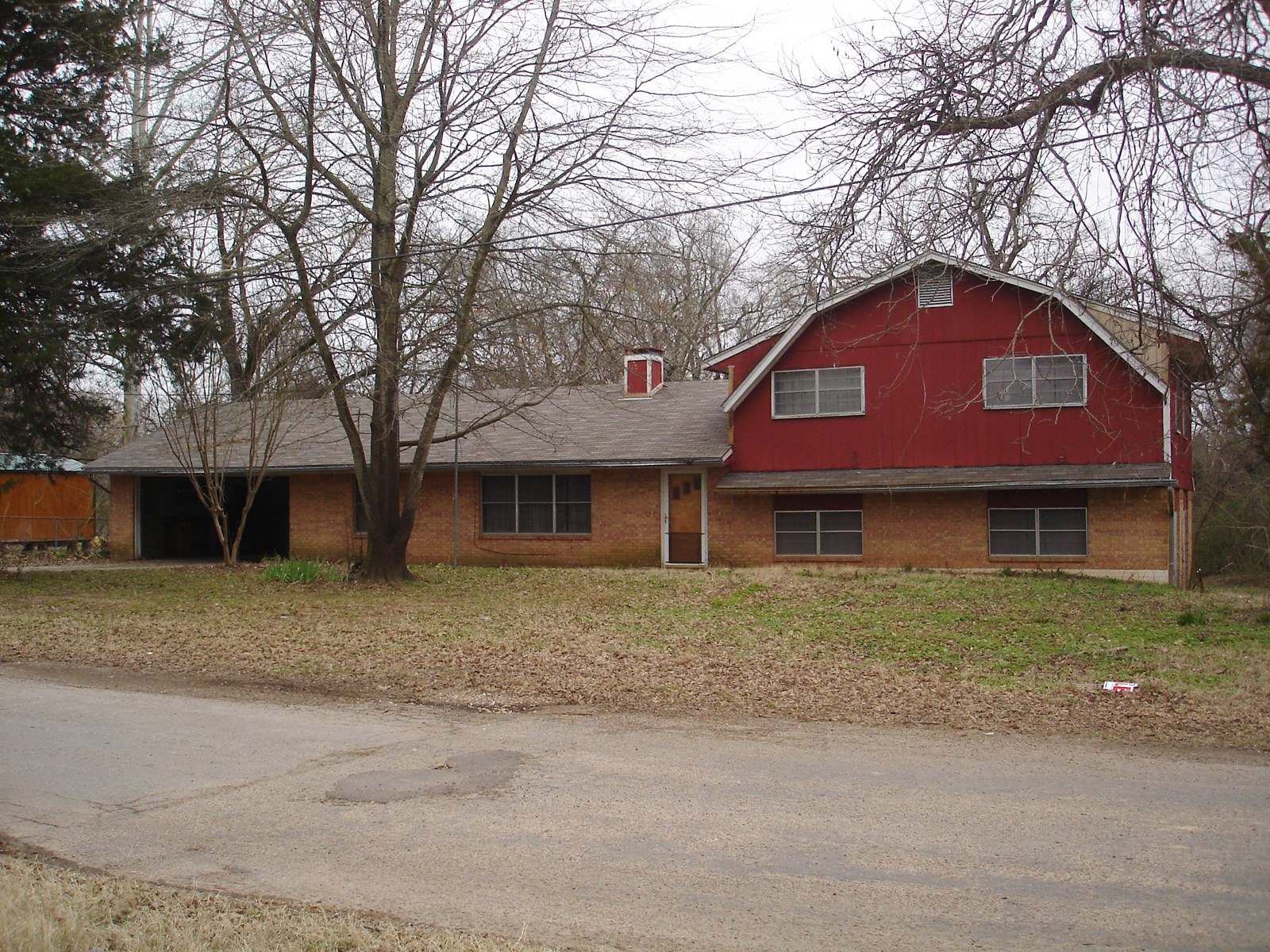 County Home In Town Investment For Sale Detroit Texas